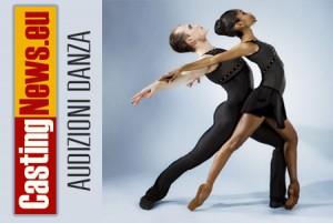 Audizioni danza danzatori danzatrici teatro 2013